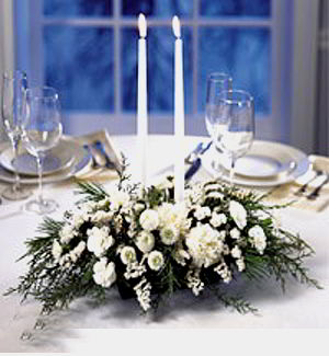 Denville Florist | Winter Setting